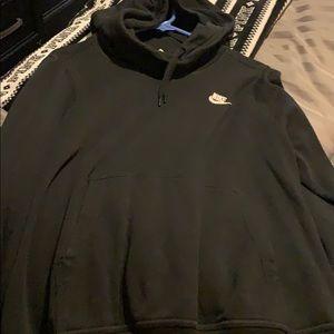 Cowel neck hoodie